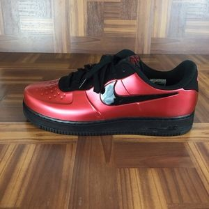 NWOT NIKE Air Force 1 FOAMPOSITE PRO CUP GYM RED